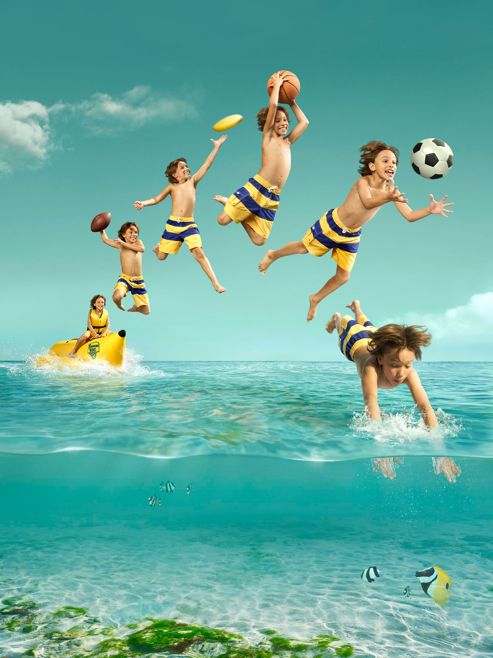 Banana Boat by FEEL GOOD Creative Retouching,